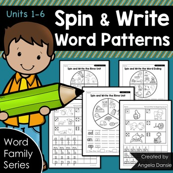 Spin and Write Word Patterns
