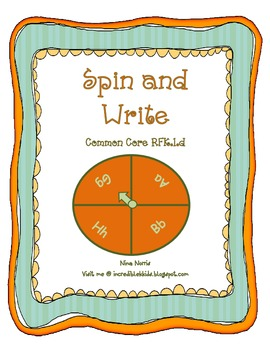 Spin and Write Letters!