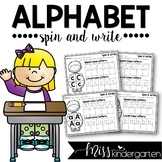 Alphabet Tracing Spin and Write Letters