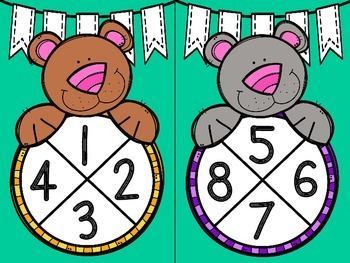 Spin and Write (Numbers 1-20)