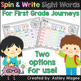 Spin and Write Sight Words (First Grade Journeys)