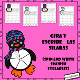 Spin and Write Spanish Syllables (Gira y escribe silabas en espanol) (PENGUIN)