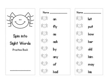 Sight Word Partner Activities (Dolch First Grade)