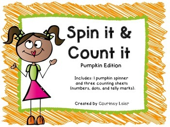 Spin it & Count it - Pumpkin Edition