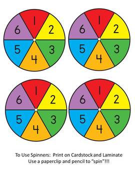ELA Test Prep Game - Spin it to Win It!