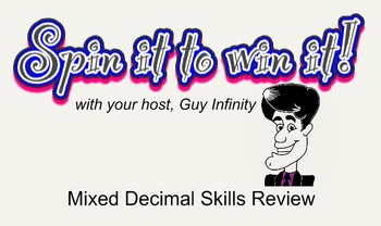 Spin it to Win it (Decimal Place Value Review)