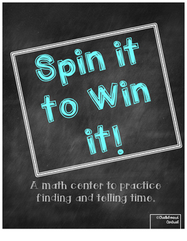 Spin it to Win it - Time Center