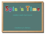 Spin 'n Time - Addition Math Fact Game