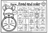 Spin read and color syllables