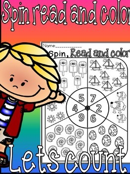 Spin read count and color(free)