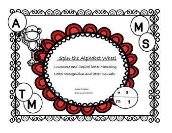 Spin the Alphabet Wheel