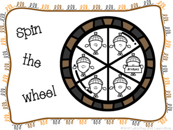 Spin the Wheel, Let's Match Acorns! A Preschool Game