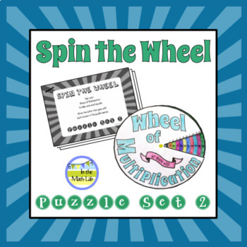 Spin the Wheel Puzzle Set 2