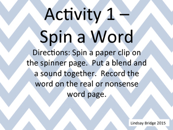 Spin the word