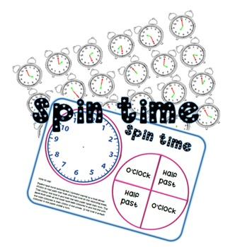 Spin time game