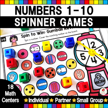 Spin to Win Counting 1-10 Games