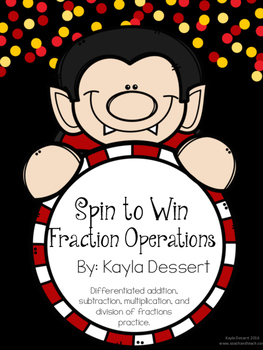 Spin to Win Differentiated Fraction Operation Practice