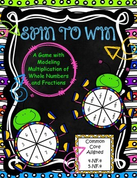 Spin to Win Game: Multiplying with Fractions