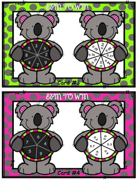 Spin to Win - Model Multiplication of Decimals and Whole Numbers 5.NBT.7