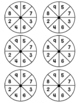 Spin to Win Multiplication Partner Game