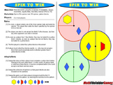 Spin to Win: Probability Games