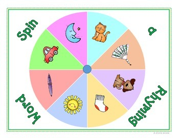 Spin to Win - Rhyming Words