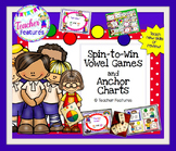 Vowel Team Games & Long Vowel Posters