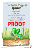 Spinach Poster - Available in English and Spanish!