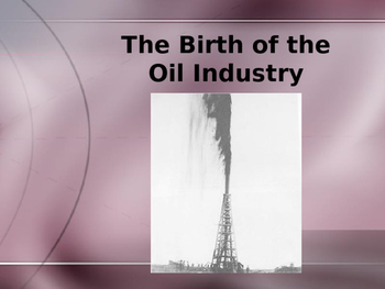 Spindletop Oil Strike