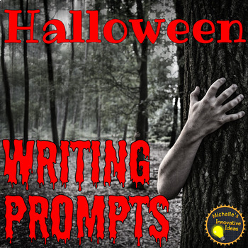 Spine-Chilling Halloween Writing Prompts | 6th - 8th Grade