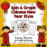 Spin & Graph: Chinese New Year (Bar Graph, Tally Chart, Line Plot & Pie Graph)