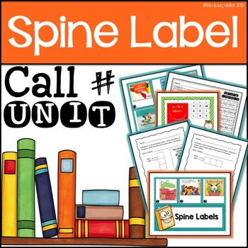 Spine Label Fiction Call Number Library Unit UPDATED