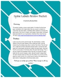 Spine Labels Review Packet - Library Media Center