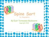 Spine Sort: Biographies