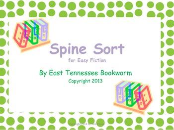 Spine Sort - Easy Fiction