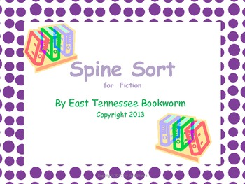 Spine Sort - Fiction