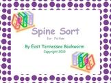 Spine Sort - Fiction