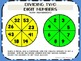 Addition, Subtraction, Multiplication, and Division Spinner Activities
