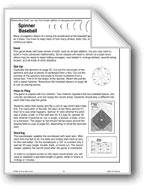 Spinner Baseball (Math Games)