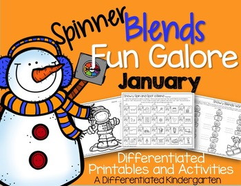 Spinner Blends Fun Galore for January-Differentiated and Aligned