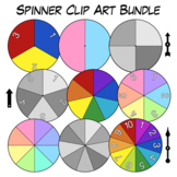 Spinner Clip Art Combo Pack