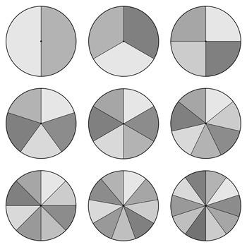Spinner Clip Art - Pastel