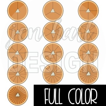 Spinner Clip Art - Pumpkin Pie
