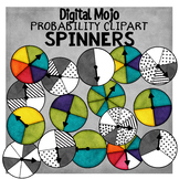 Spinners Clipart – Probability Clipart