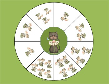 Spinner Fun (Math, Number Recognition, Counting)