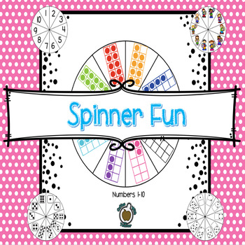 Spinner Fun! Numbers 1-10