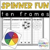 Spinner Fun: Ten Frames