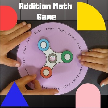 Spinner Game Addition