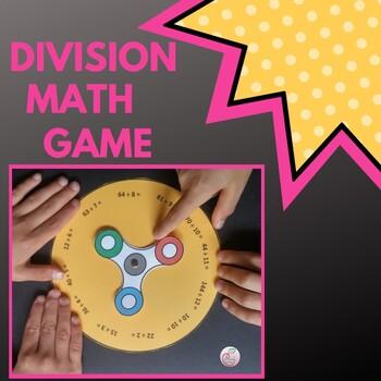 Spinner Math Game Division