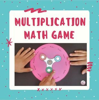 Spinner Game Multiplication